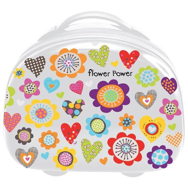 Vanity case rigide - Flower Power