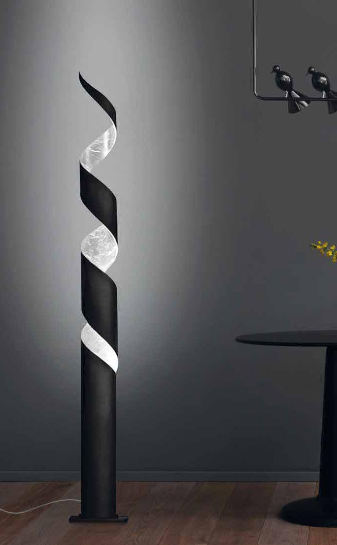 Light column / original design / steel / indoor REMÌ by Gibas GIBAS