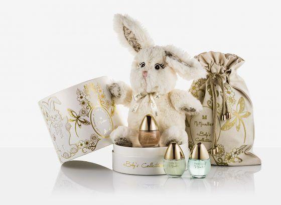 M. Micallef |  Baby's Collection - pachną apetycznie, świeżo i słodko. Tendre Douceur to zapach wiśni i jabłkowych cukierków, Petit Coeur pachnie świeżo i zwiewnie orzeźwiającą cytryną i miętą, zaś Petite Fleur jest łagodnym aromatem kwiatów pomarańczy z delikatną nutą miękkiego piżma.