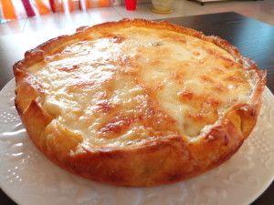 Quiche à la mozzarella avec thermomix