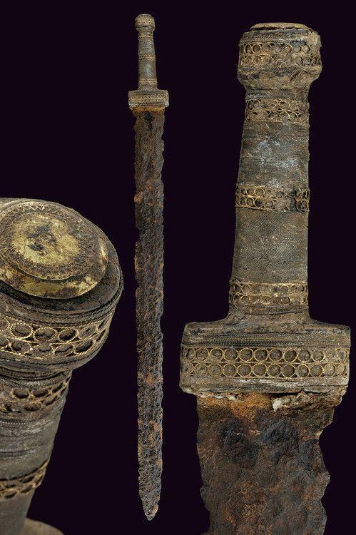 V c. - Merovingian Sword