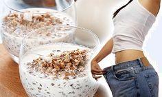 Il grano saraceno crudo con il kefir o lo yogurt magro al mattino a stomaco vuoto è davvero una ricetta incredibile e miracolosa per la nostra salute.