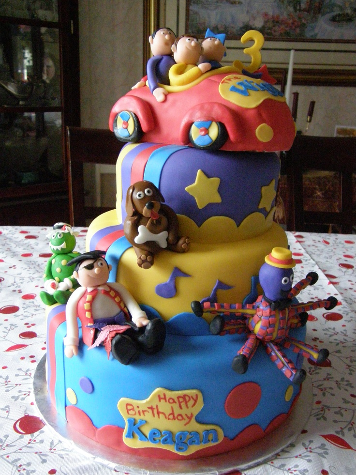 Wiggles Birthday cake - this one is awesome :)