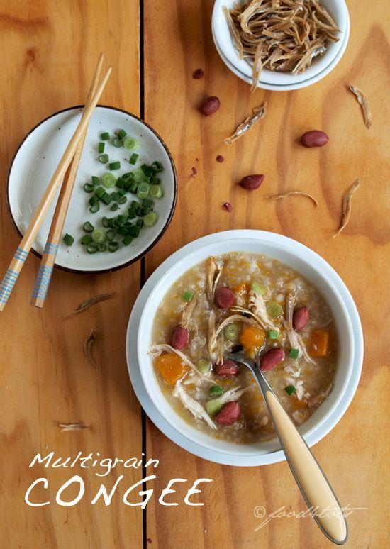 Multigrain Congee (Rice Porridge) - #food-4tots, #multigrain, #congee