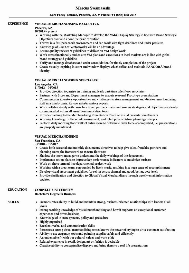Loss Prevention Job Description Resume Beautiful Visual