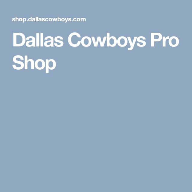 Dallas Cowboys Pro Shop