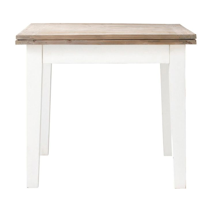 1000 id es sur le th me table carr e avec rallonge sur for Table maison du monde d occasion