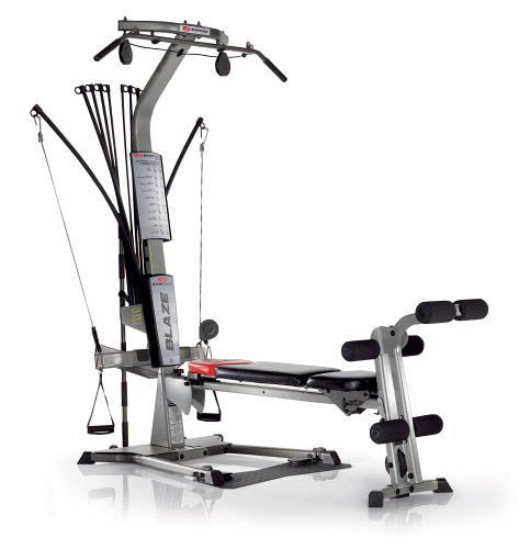 The Bowflex Blaze Home Gym Setup And Ready For Working Out