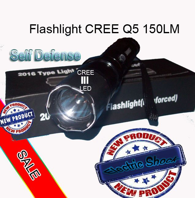 Tourch Police Self-defense Electric Shock  LED Flashligh #niemarkowe