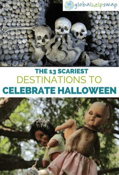 The 13 scariest destinations to celebrate halloween around the world. Here are some great ideas and places for you to celebrate halloween. From Vampires to Zombies these destinations have it all. There are loads of ghosts too so be prepared for a fright!