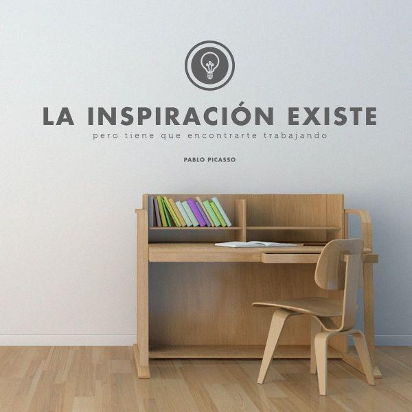 La inspiración existe