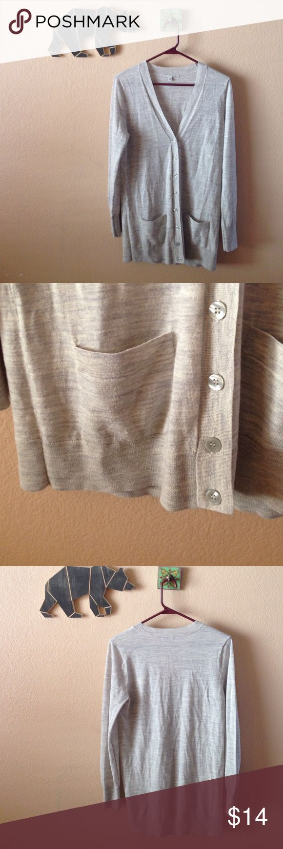 Halogen Petite Cardigan Soft and sweet button up cardigan by Halogen. Comes from a smoke and pet free home. Halogen Tops Tees - Long Sleeve