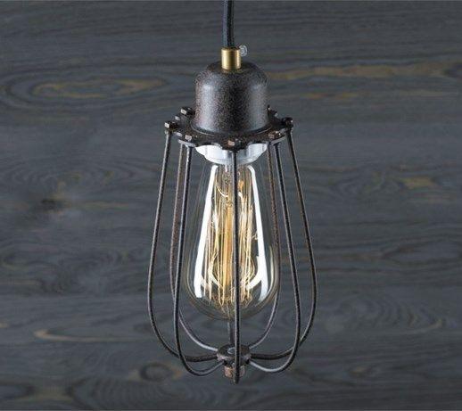 Kopenhagen Loft Rusty z żarówką Edison 40W - Lampy wiszące - zdjęcia, pomysły, inspiracje - Homebook