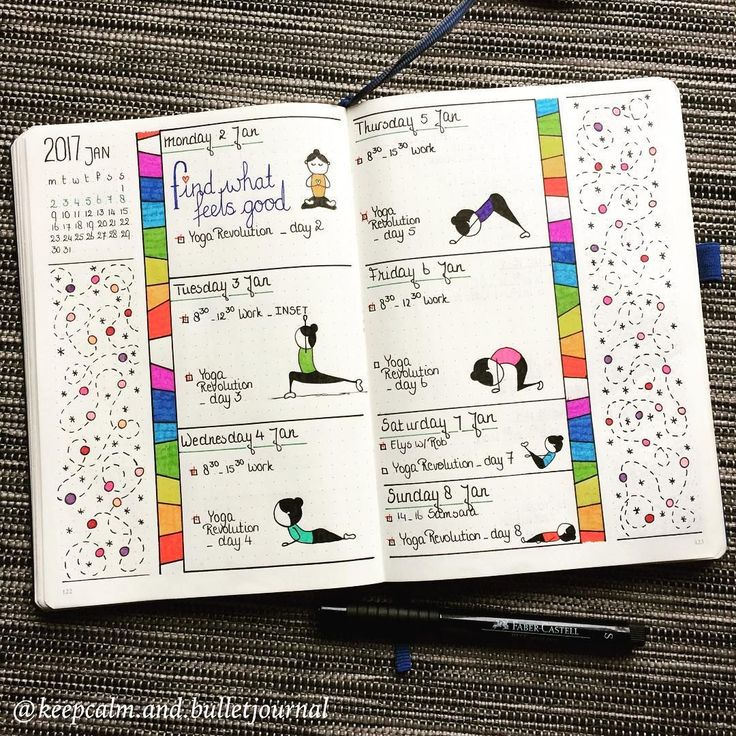 Tons of Bullet Journal Weekly examples to help you organize your life | Zen of Planning | Planner Peace and Inspiration