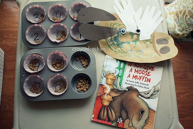 Moose Craft and Other Fun If You Give a Moose a Muffin Ideas