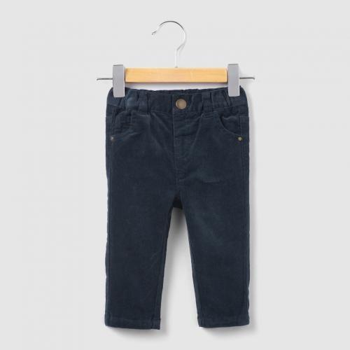 #Pantaloni in velluto 1 mese-3 anni Blurosso  ad Euro 19.95 in #R essentiel #La redoute bambino neonato 0 3