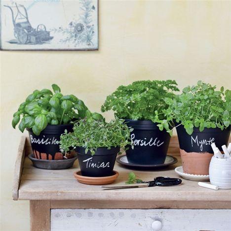 Sjovt genbrug: Mal på dine urtepotter - Hendes Verden