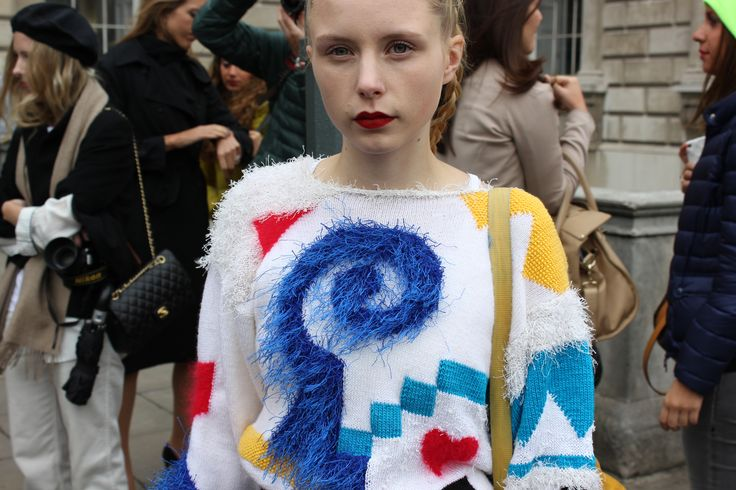 """""""SHAPES GALORE"""" #jumper #statement #bold #streetstyle"""