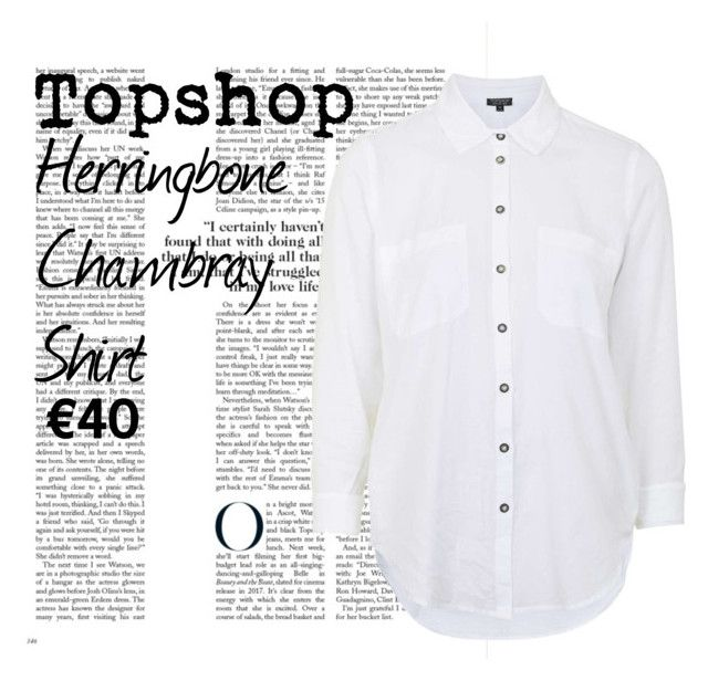Topshop Shirt by shannagh-harte on Polyvore featuring Topshop