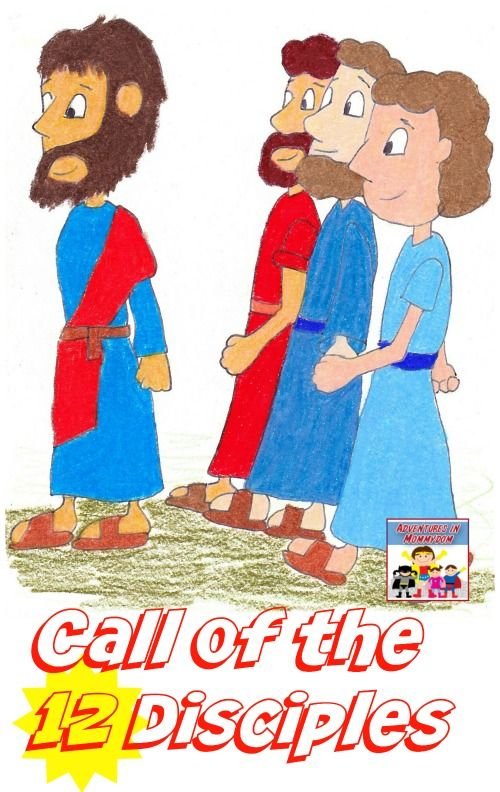 call of the 12 disciples