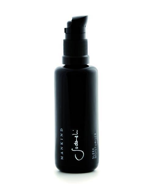 Sodashi Sleek Moisturiser -award winning men's moisturiser 'Best Anti-ageing Spa Range' . Sleek is right