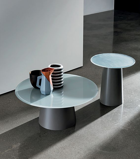 #glass or MATERIA?Which is your favourite top for totem coffee table?Discover the collection #sovet #sovetitalia #desing #interior #decor #inspiration #furniture #madeinitaly