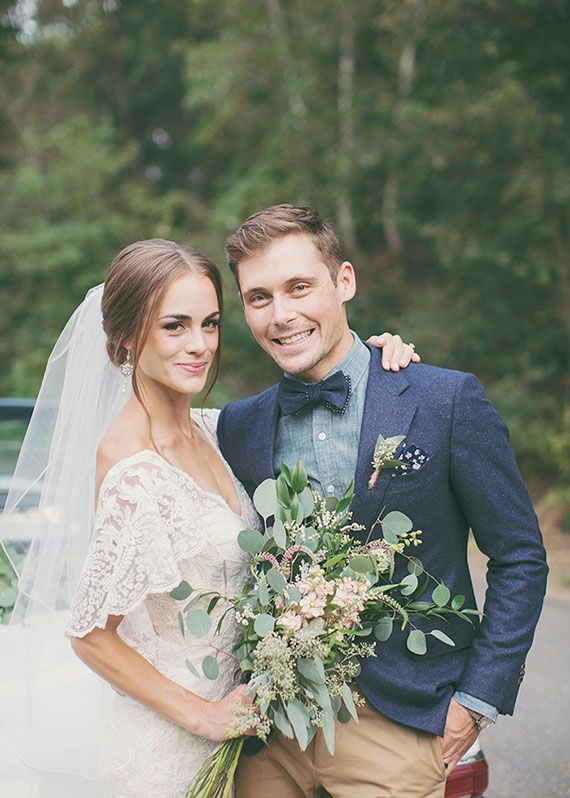 Denim blue bruidegoms // Inspiratie voor je bruiloft // Alixann Loosle Photography // Engaged.nl