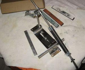 Заточка ножей к  электрорубанку своими руками