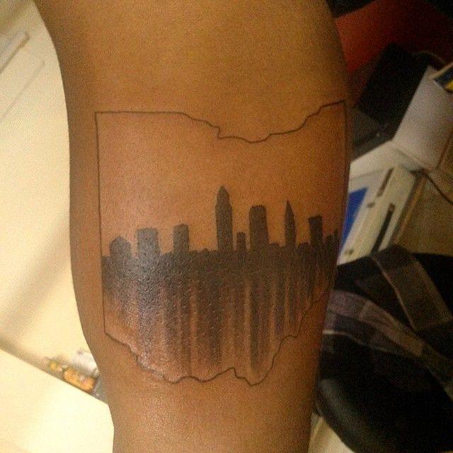 Best 20 ohio tattoo ideas on pinterest for Cleveland skyline tattoo