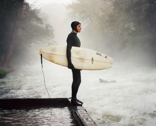 The Eisbach (Munich, Germany) Thomas Prior