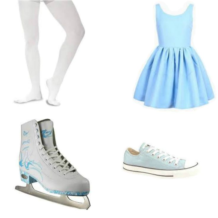 Ice's skating outfit.