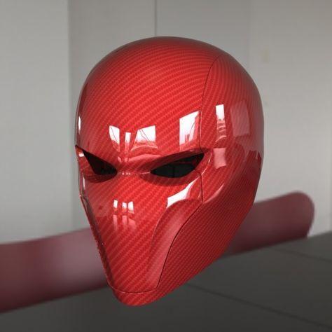 red hood helmet 3d max - Red Hood Helmet... by HCGremlin
