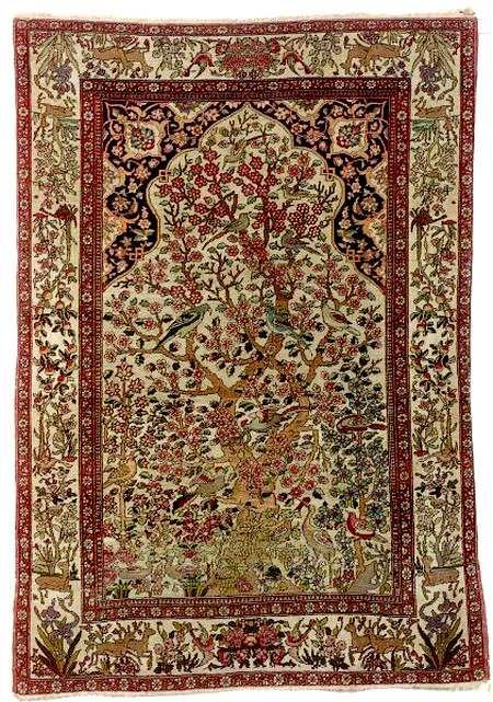 Antique Kerman Rugs Guide To Lavar