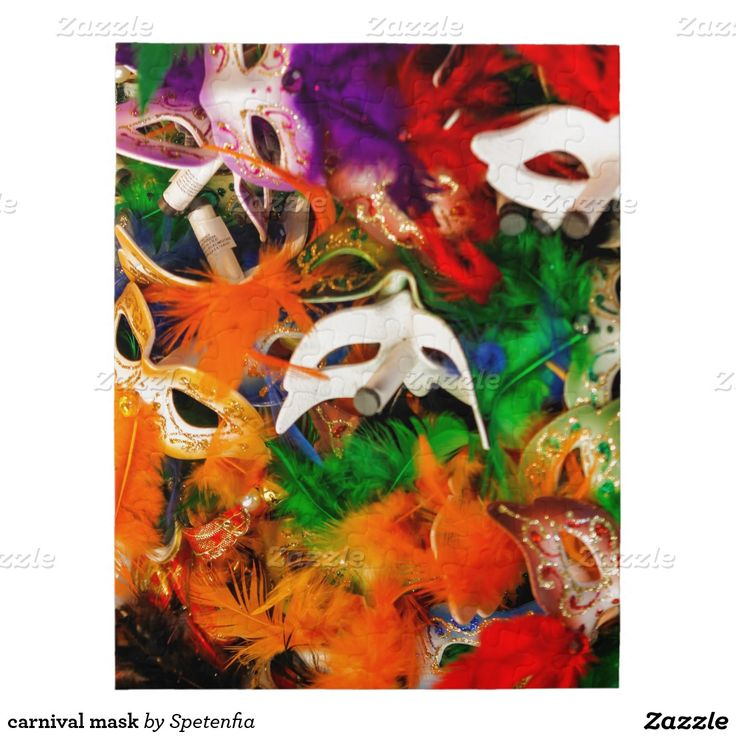 carnival mask puzzle