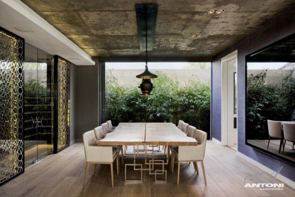 wohnzimmer übergang moderne designer wohnung cape town
