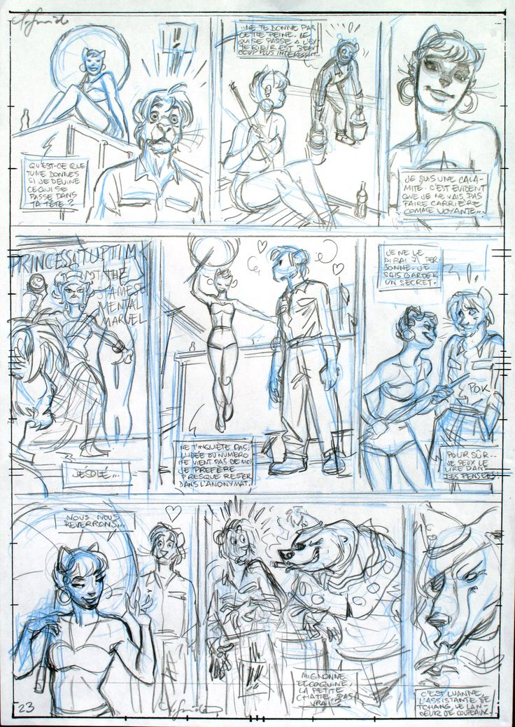 Comic Storyboards Art By Rodolphe Guenoden A K A Rod Guen
