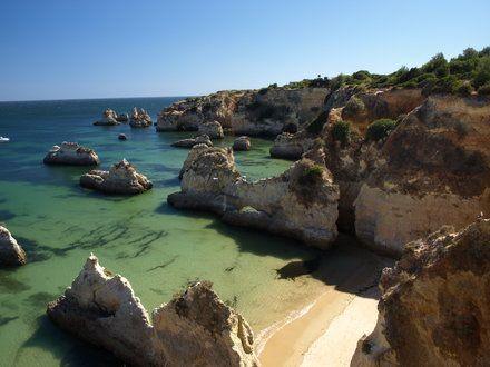 Plaża Praia da Rocha
