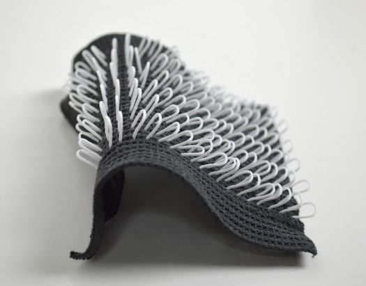 3ders.org - English researchers use 3D printing to produce flexible and fine textile-like structures | 3D Printer News & 3D Printing News