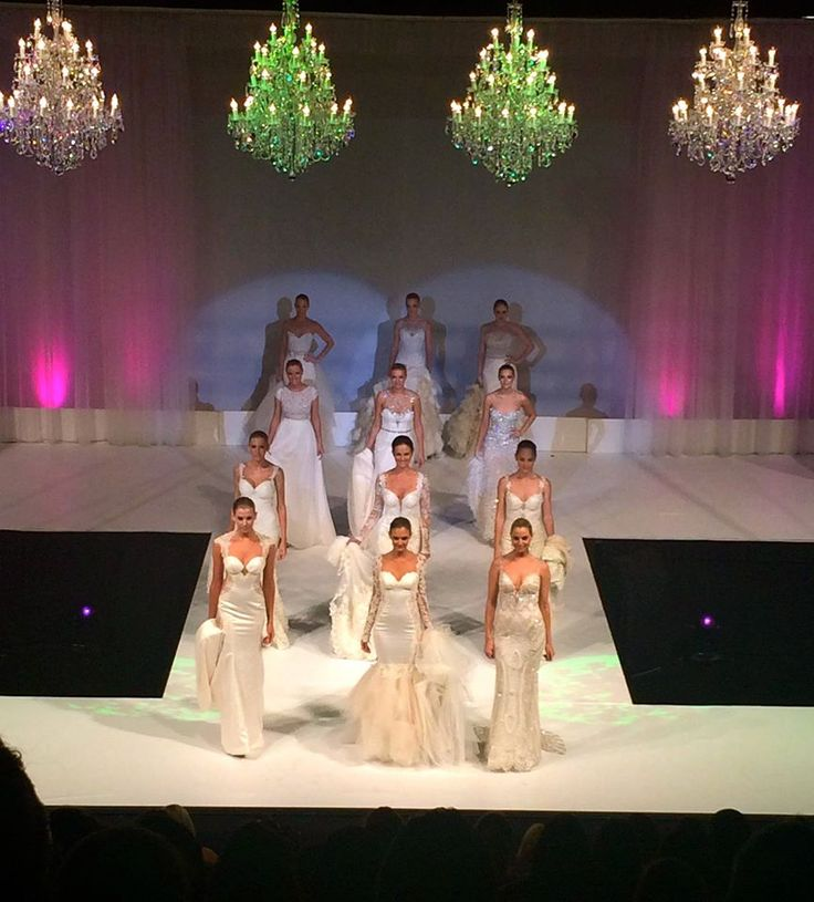 Who saw Eternal Bridal on the #UltimateBridalEvent catwalk - Those Galia Lahav Haute Couture dresses were spectacular!