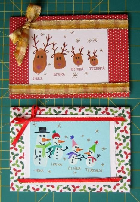 Fler BLOG | NejenMama / Vánoční přání - tvoříme s dětmi