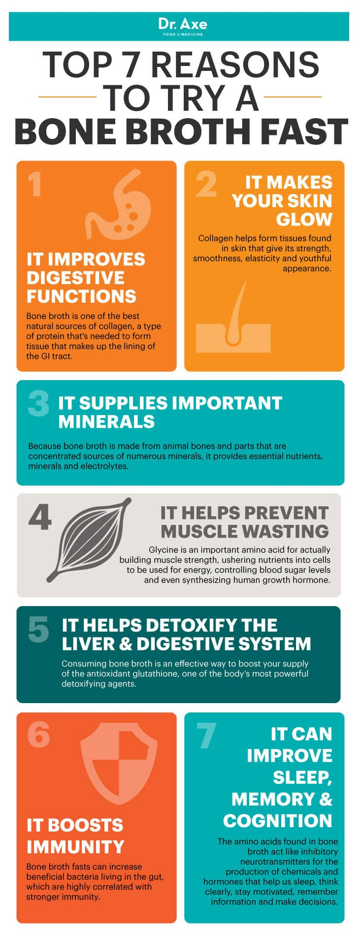 Bone broth fast benefits - Dr. Axe http://www.draxe.com #health #holistic #natural