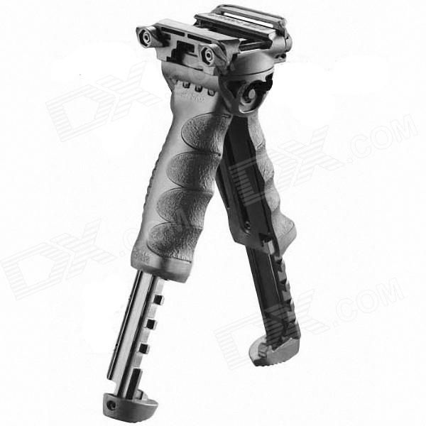 Foldable Tactical Military Foregrip Bipod - Black Price: $45.67