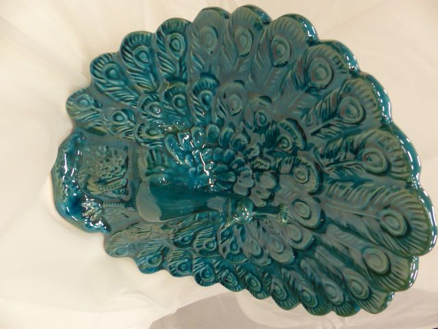 Peacock ornament #mothersday #peacock #teal