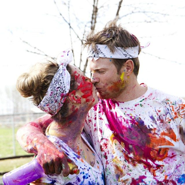 How to Host a Paint War Party