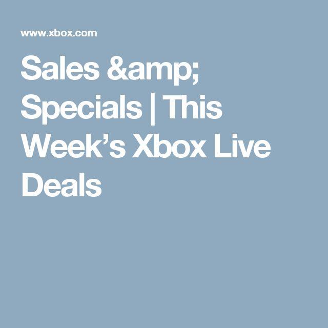Sales & Specials | This Week's Xbox Live Deals