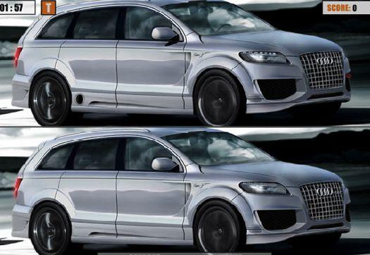 Diferente Audi Q7