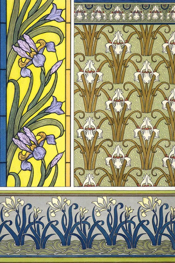 32 best Art Nouveau - Plants and Ornaments images on Pinterest | Art ...