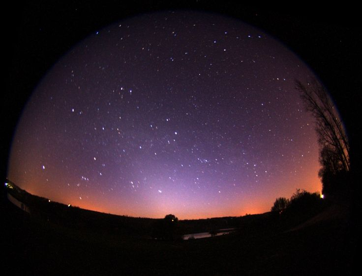 Csillagos égbolt a Zselicben