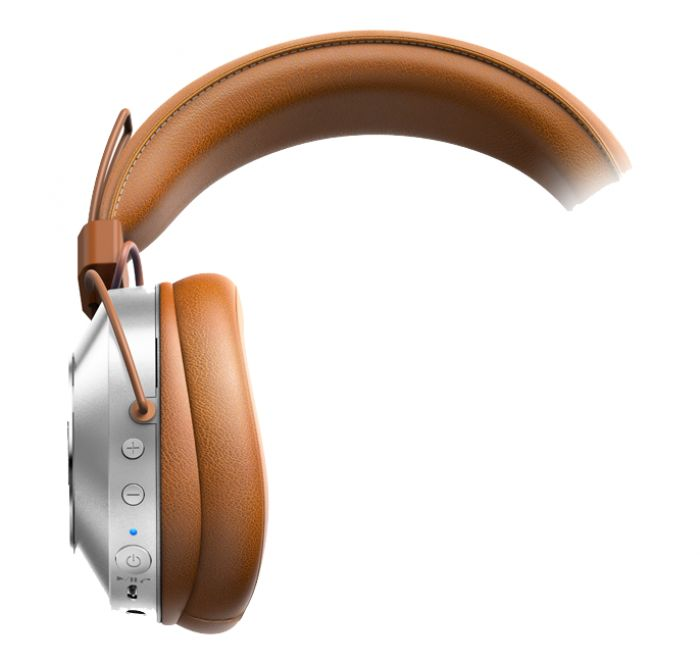 The Pioneer SE-MS7T Bluetooth Headphones allow for control of your phone calls and music with a built-in inline mic, as well as wireless Bluetooth connection, all while offering maximum comfort thanks to the ergonomic design. Brown.