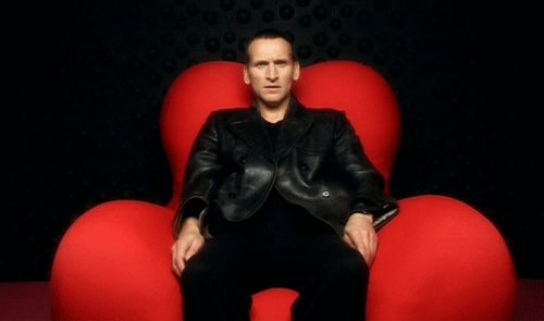 The Doctor (Christopher Eccleston) finds himself in the Big Brother House (Bad Wolf episode) via flickfilosopher